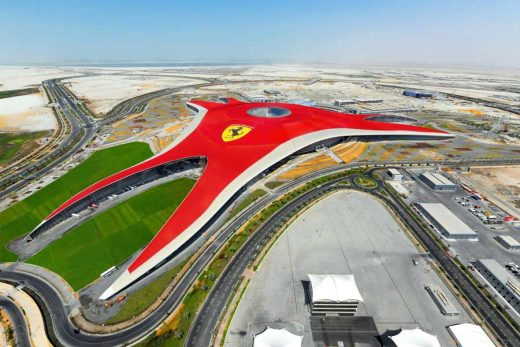 Ferrari World Abu Dhabi, FWAD Building UAE