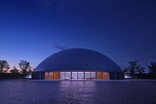 General Motors Design Auditorium Michigan dome