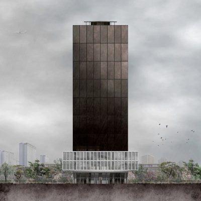 Grenfell Tower Memorial building design London by JAA