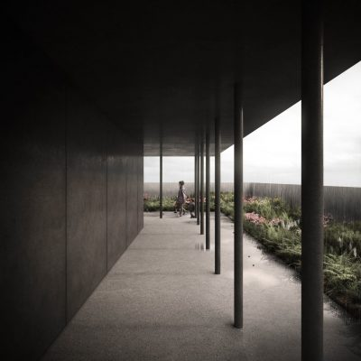 Grenfell Tower Memorial Design terrace