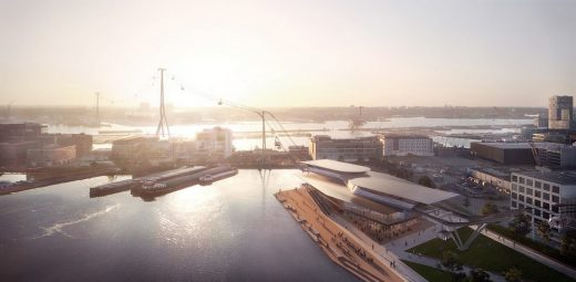 IJbaan Cable Car by UNStudio in Amsterdam