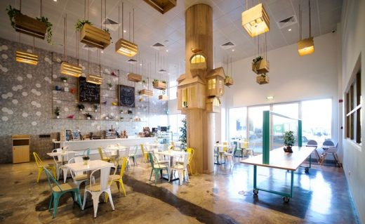 Le Petite Tree House Cafe in Dubai, United Arab Emirates, by Sneha Divias Atelier
