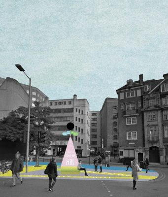 London Bridge Public Realm Competition Charles Holland Architects