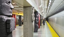 Museum Station Toronto building interior