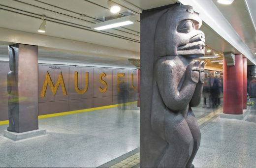 Museum Subway Station Toronto