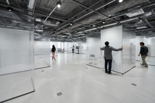 Panasonic Headquarters Kyoto building interior