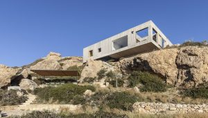 Patio House by OOAK architects in Greece