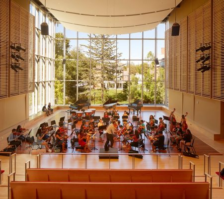 Phillips Exeter Academy Class of 1959 Music Center interior