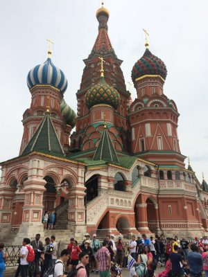 Saint Basil's Cathedral building