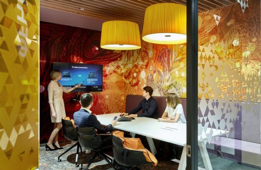 Sberbank Activity Based Working in Moscow