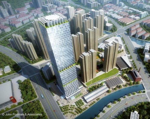 Super Tall Tower in Wuxi