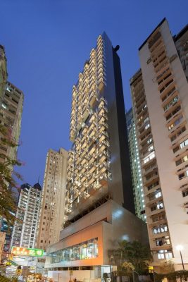 The Luna Tower at 18 Lun Fat Street in Wan Chai
