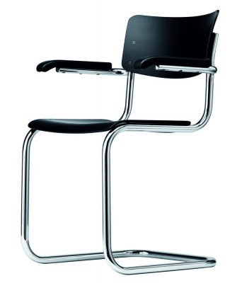 Thonet Tubular Steel Cantilever Chair