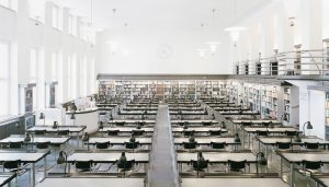 Thonet Tubular Steel Cantilever Chairs at the Leipzig National Library