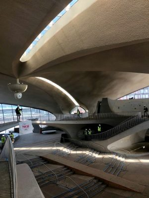 TWA Hotel at JFK Airport New York USA