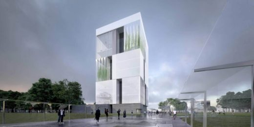 University College Dublin Competition Design by John Ronan Architects