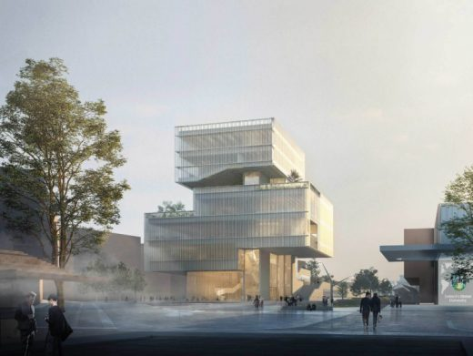 University College Dublin Competition Design by O'Donnell + Tuomey
