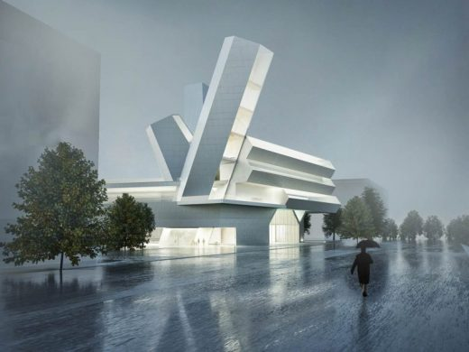 University College Dublin Competition Design by Steven Holl Architects