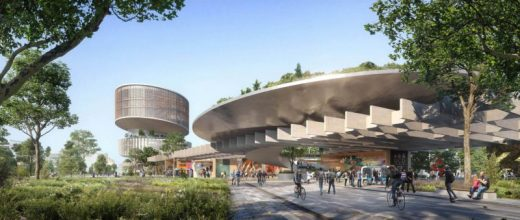 University College Dublin Competition Design by UNStudio