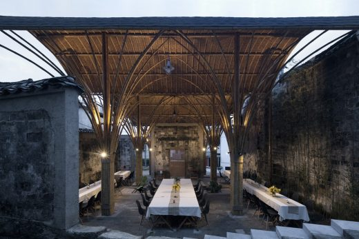 Village Lounge of Shangcun, Jixi, China