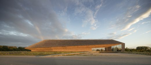 Wadden Sea Centre Building in Ribe, Denmark
