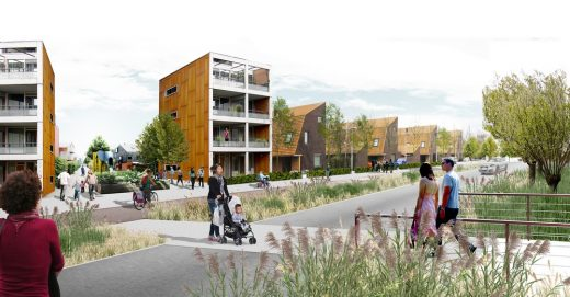 Waterbeach New Town East masterplan Cambridgeshire by LDA Design