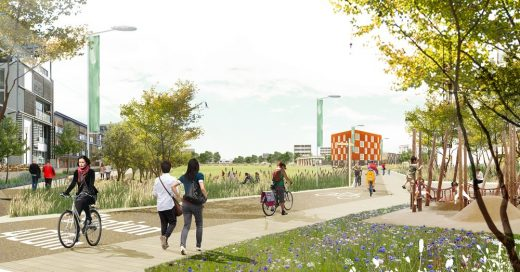 Waterbeach New Town East Cambridge by LDA Design