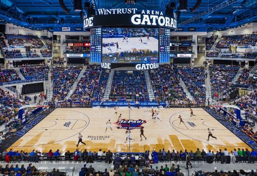 Wintrust Arena building interior