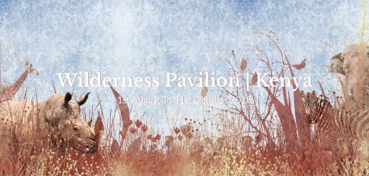 Wilderness Pavilion Kenya Competition