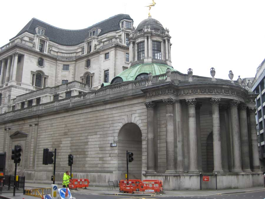 Bank of England City of London Building
