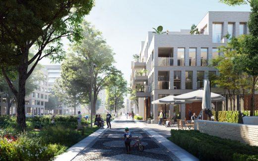 Cartesiusdriehoek Blue District in Utrecht