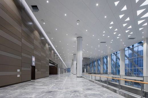 China Optics Valley Convention and Exhibition Center building interior