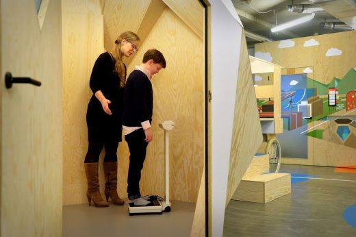 Interactive and Playful Centre for Overweight Adolescent and Childrens Healthcare in Maastricht