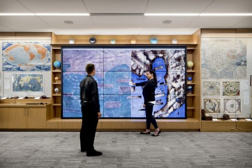 David Rumsey Map Center at Green Library, Stanford University