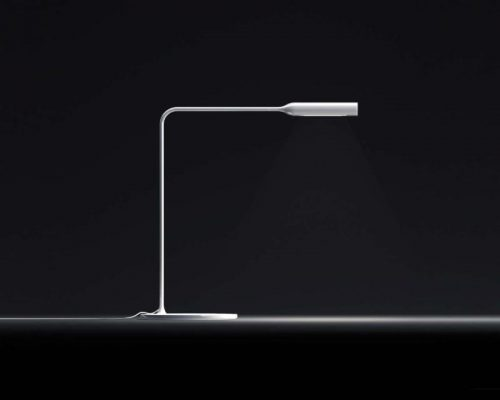 Flo Table Lamp design by Norman Foster