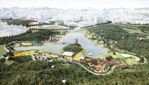 Forest and Sports Park in Guang Ming, Shenzhen