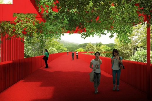 Forest and Sports Park in Guangdong Province
