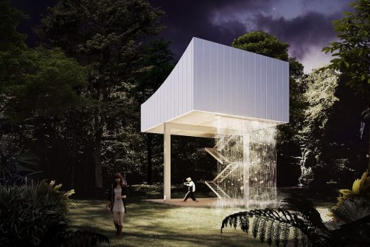 Guangdong Province Building design by LOLA, TALLER & L+CC