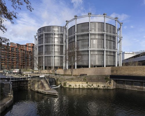 Gasholders London King's Cross