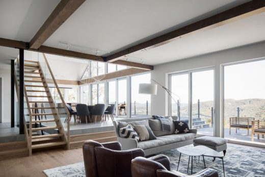 High Altitude Style House in Saint Sauveur Quebec