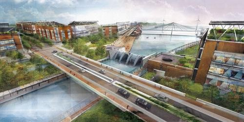 Hydroelectric Canal Boston Proposal