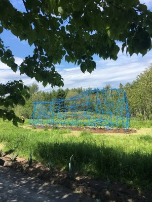 Installation Le Rocher Tres Perce in Grand Metis Quebec