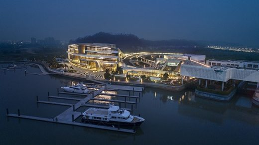 Keppel Cove Marina Clubhouse in Zhongshan