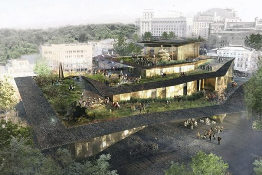Maidan Memorial Kyiv Design Competition 3rd prize
