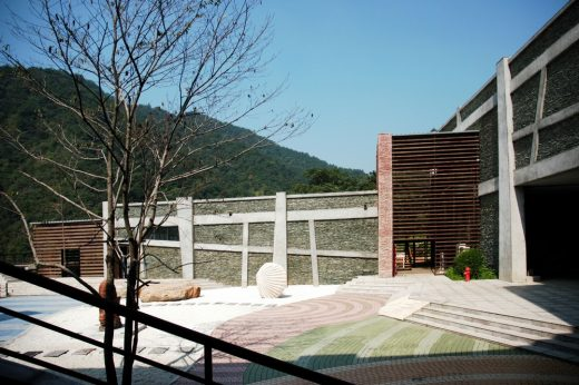 Museum in Wangwu Mountain World GeoPark
