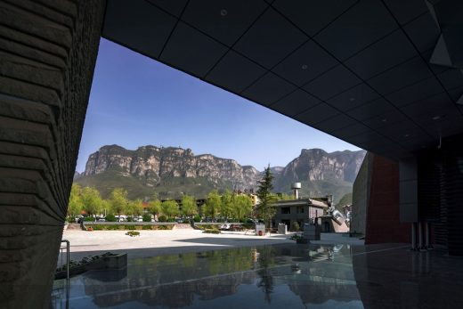Museum in Yuntai Mountain Geopark in China