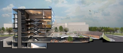 Museum of Language London design competition Second prize