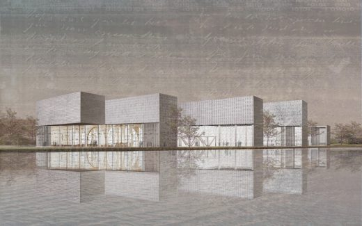 Museum of Language London architecture contest Third prize