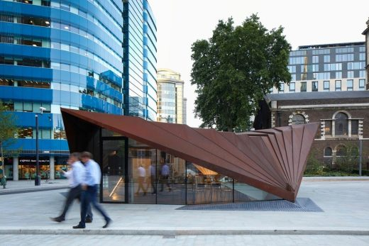 New Monocoque Pavilion for City of London
