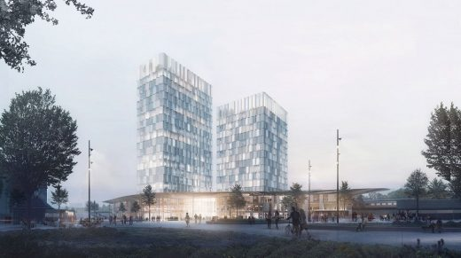 New Train Station Development in Altona Hamburg